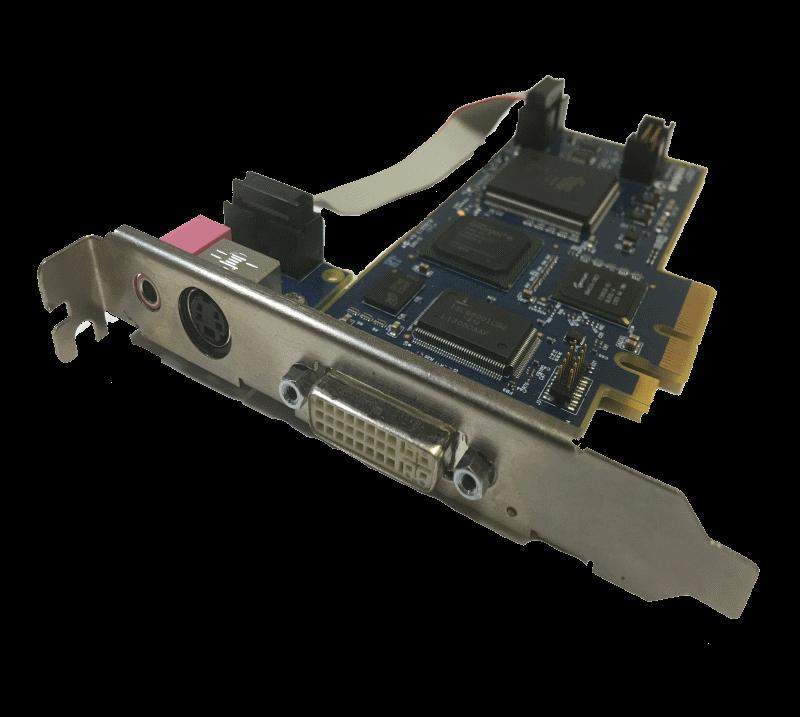 Cognitech Internal PCI-E DVI HDMI VGA S-Video Composite Digital Analog Capture Card