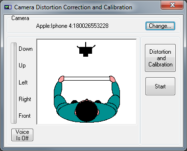 VA Example Real Time Camera Calibration