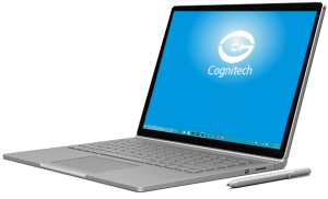 Cognitech Software used on Microsoft Surface Book